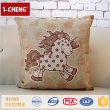 Hot Sale Cute Sheep Pattern Design Printing Cushion Home Decor Pillow Case,Home Textile Pillow Cover