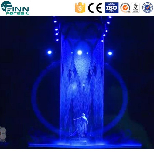 Digital Wall Waterfall Fountain Artificial Modern Wall Fountains