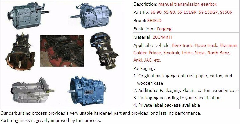 S6-90 Qijiang brand bus car automatic transmission repair gearbox