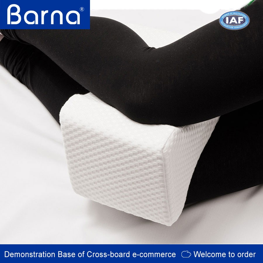 Memory Foam Support for knee& leg Pain Knee Pillow for Side Sleepers