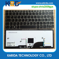 New Portuguese Brazilian layout laptop keyboard for HP EliteBook 2170p 2170 keyboard with frame stick