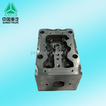 Sinotruk spare parts Cylinder head VG1246040010 for HOWO 371 hp diesel engine