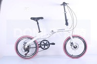 China new design popular 7 speed lightweight cheap folding bikes
