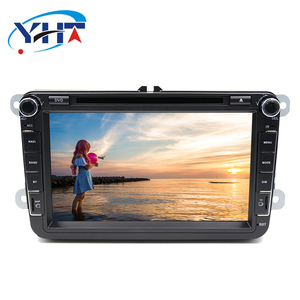 Dashboard Android 2din full hd car radio dvd player gps with audio entertainment system