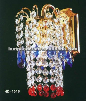 2012 Five Star Hotel crystal wall light