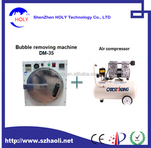HOLY Mini AutoClave Bubble Removing Remover Machine For iPhone6S/6 Plus/SamsungS7 Edge vacuum laminating machine