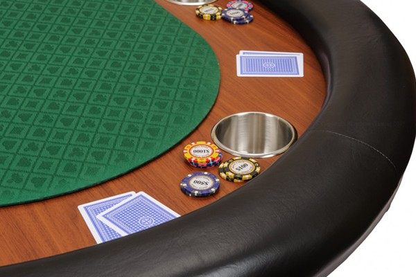84inch oval cheap custom poker table with folding legs