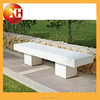 Outdoor Piano park bench with legs for garden furniture