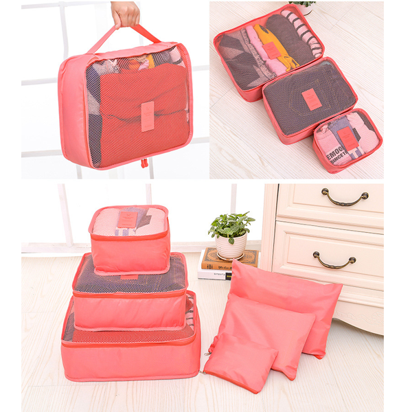 Nylon Breathable Strong Enough Travel Toiletry Cosmetic Makeup Clothes Luggage Organizer Bag / Kit / Case