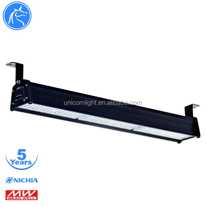 MeanWell power 5 years warranty industrial lighting lampu led high bay 150w for warehouse project