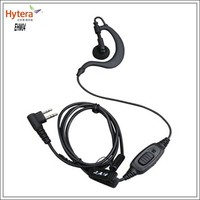 New product ! Hytera 2-way radio EHM04 Earpiece for TC-500,TC-600, TC2108, TC2110