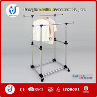 laundry double-pole ceiling mounted clothes drying rack