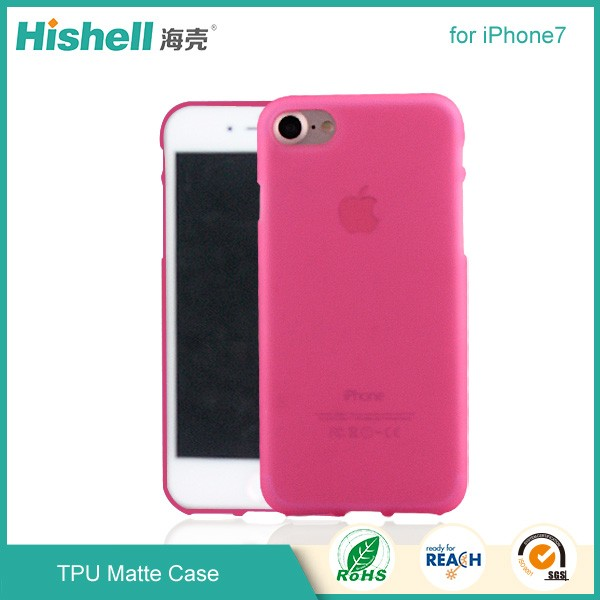 mobile phone case, tpu matte for iPhone 7 case tpu
