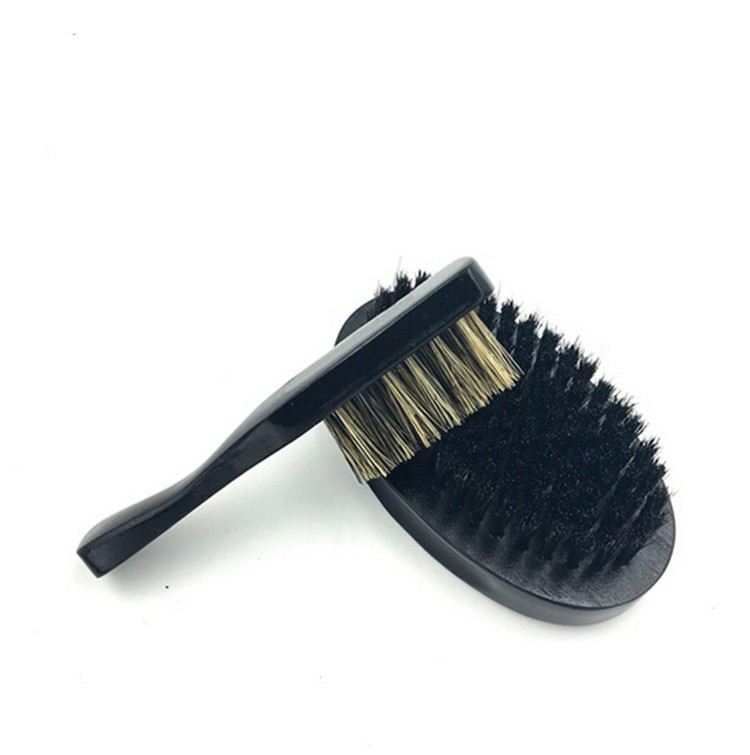 Amazon Wholesale custom logo wooden boar bristle beard brush