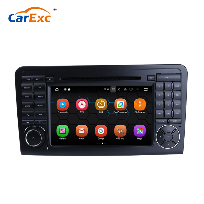 2G RAM 32G ROM Android 7.1 <strong>Car</strong> <strong>DVD</strong> Multimedia For Benz/ML/GL CLASS <strong>W164</strong> ML350 ML500 GL320 Canbus Wifi GPS System Radio Stereo
