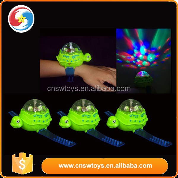 flash led light Wristband kid toy spinning top toy