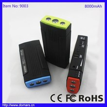 Multi-Function Mini Jump Starter for 12V 16V 19V Car Engine Emergency Starting with Lithium Rechargeable Battery