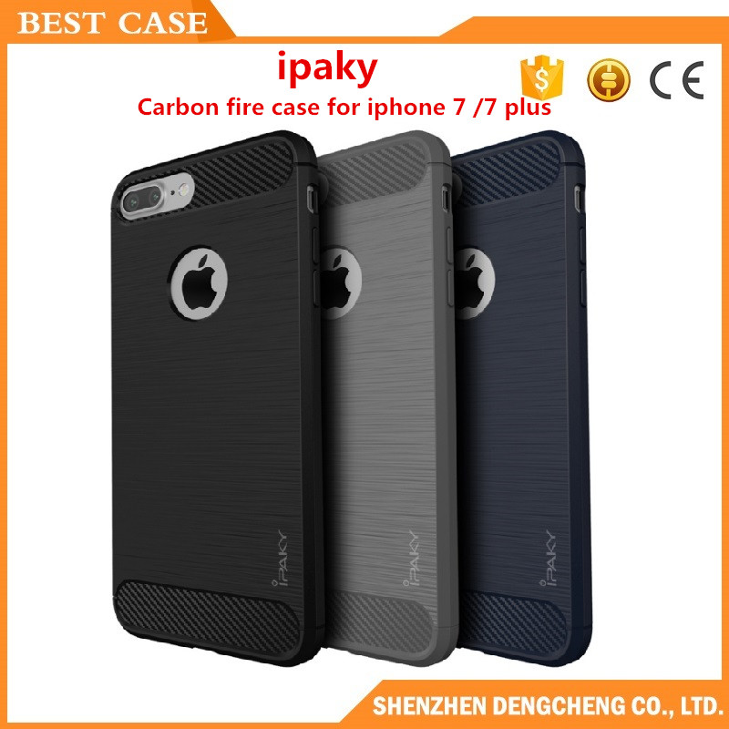 Original ipaky silicon cover for iphone 7/7 plus silicone case tpu