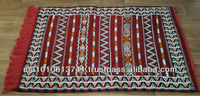 Wholesale handwoven berber Kilim rug made in Morocco 135cm x 75cm