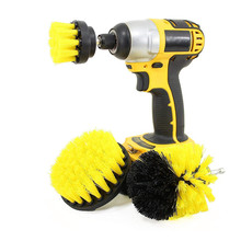 3pack Power Scrubber Drill <strong>Brush</strong> Kit