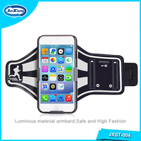 Factory supply armband cell phone holder case with key pocket for iphone 6