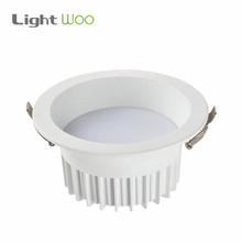 Factory Supply High Lumen Dimmable Recessed SMD2835 round dali led downlight