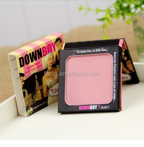 Professional the balm cosmetics eye shadow palette sexy women single color the balm makeup eyeshadow and blush palette