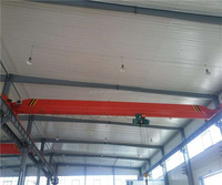 China high quality workshop top running single girder overhead crane 5 ton