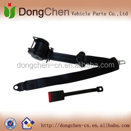 Universal 3-point Safety Belt/ Middle Steel Stick Buckle Seat belt