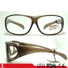 high quality safty eyewear frames with side lens and cover