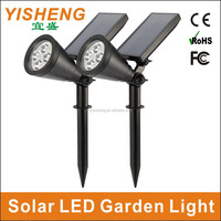 High Brightness IP65 Waterproof Solar LED Garden lamp / Outdoor Solar Powered LED Garden Landscape Lighting