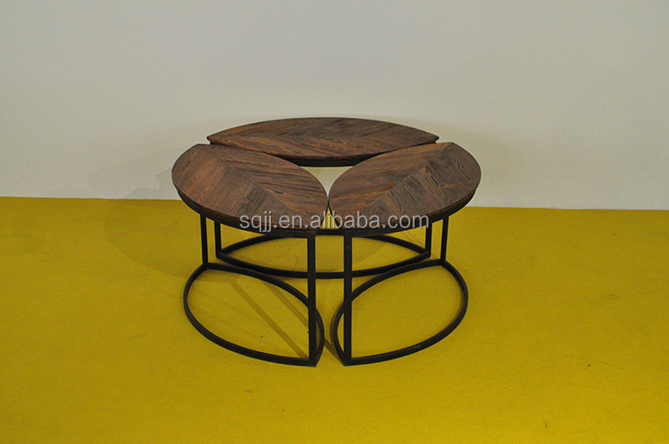 modern nature pine solid wood living room coffee tables