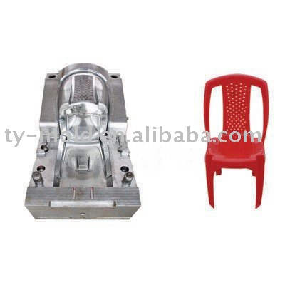 Durable plastic chair mould