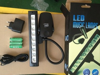 9 Cubes LED Music Stand Light,LED Music Stand Lamps.Clip-on LED Music Light