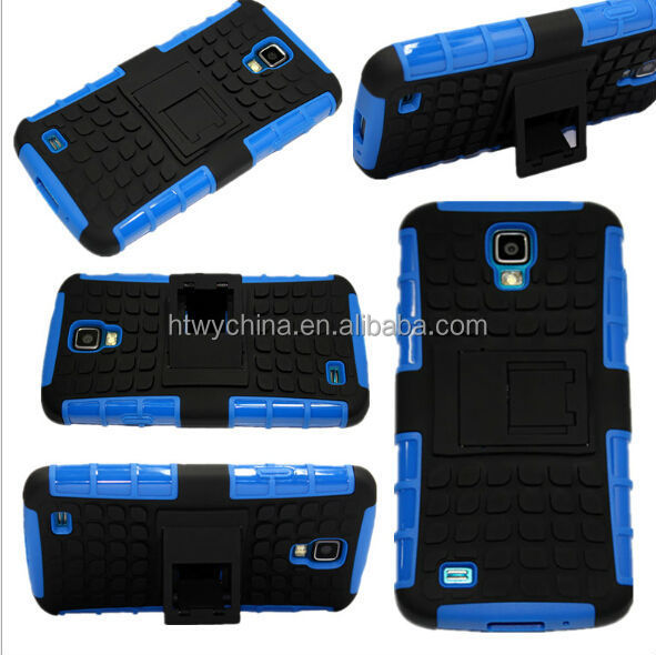 new arrival fancy durable tpu pc case for s4 active/hard cover PC+TPU Case for samsung galaxy s4 Active i9295