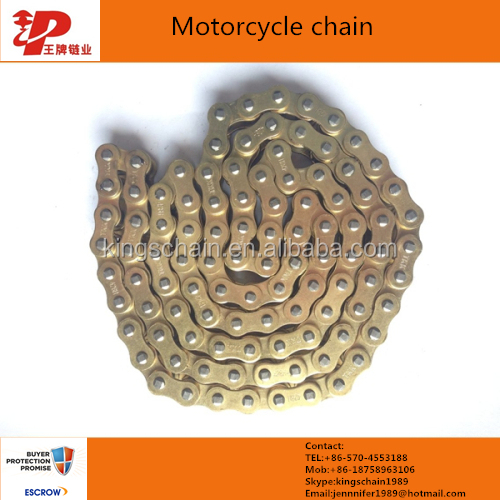 wholesale chinese made color motorcycle transmission chain 428