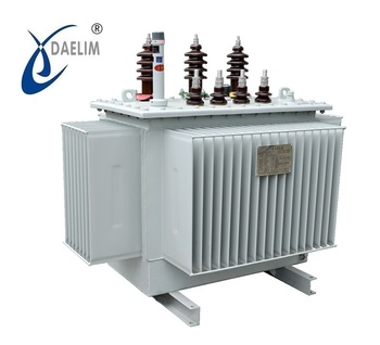 SH15-M series 6.3kv 800kva Three phase Oil Immersed Amorphous Alloy Distribution Transformer