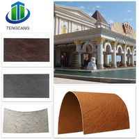 Fire resistant faux brick wall panels outdoor wall design