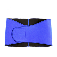 Neoprene Blue Adjustable Exercise Lumbar Back Support