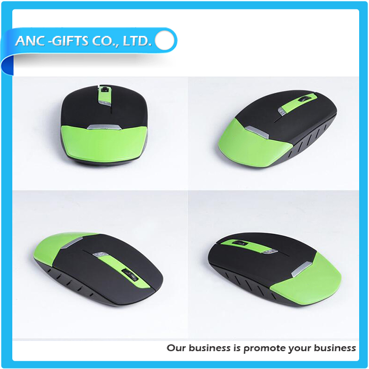2017 latest pattern bulk mouse with 2.4g wireless mouse DIY wireless mouse