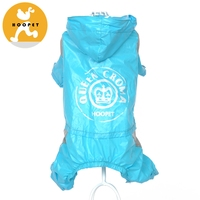 Heavy Duty Strong Waterproof Large Pet Dog ClothingBig Dog Rain Coats