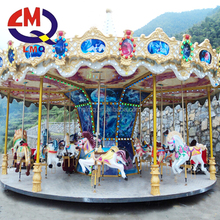 2017 amusement new products merry go round carousel horse for sale