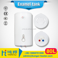 80L Round Type Enamel Tank Electric Water Heater For Shower