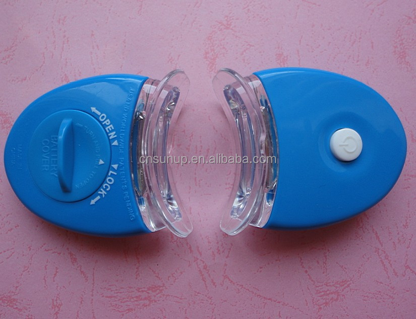mini blue Led teeth whitening light for teeth whitening kit