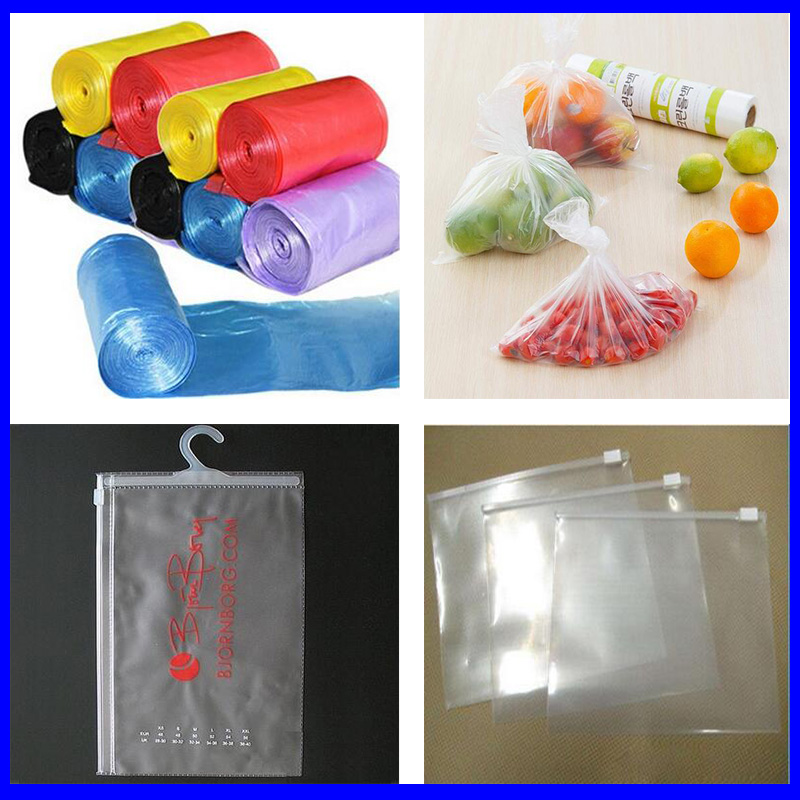 full-auto shopping bags making machine/ rubbish bag maker / plastic bags making machine