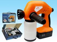 innovative 18V Li-ion cordless paint spray gun