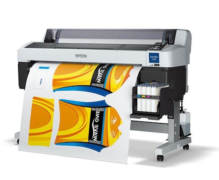 44'' 63.4 sqs/h TFP Printhead lycra sportswear F6070 F6200 F6280 SureColor sublimation printer