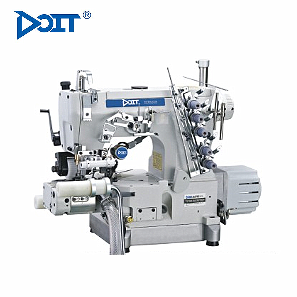 DT600-33AC/PUT/DD Direct drive right-side cutter pneumatic auto trimmer high speed cylinder bed interlock sewing machine