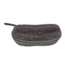 Factory soft peanut shape EVA eyeglasses case