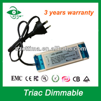 Australia SAA 20w traic dimmable led power supply led driver adapter